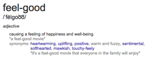 feel-good definition